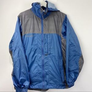 Columbia men's blue windbreaker